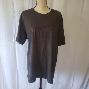 Plum/Gray Nike Swoosh Tshirt
